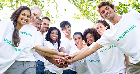 Find fulfilling opportunities for volunteer service projects or events!