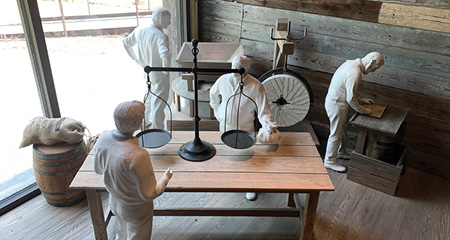 Freeman Mill Tours! Exhibit opening tours on Saturday, August 29, 8:00am – noon or by reservation.