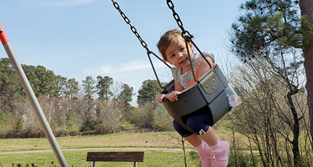Swing into Science! Learn the secret science of your parks.