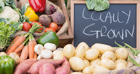 Find agricultural producers selling fresh local products.