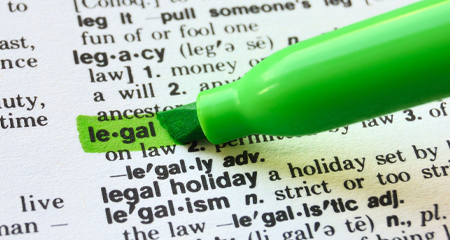 View Our Glossary Of Legal Terms