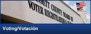 Voter Registrations & Elections