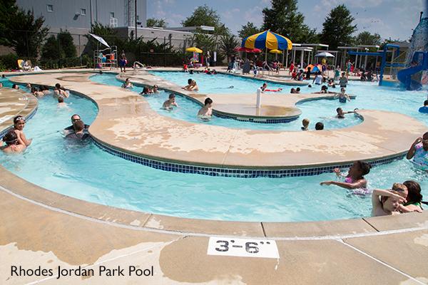 Rhodes Jordan Park Pool Gwinnett County