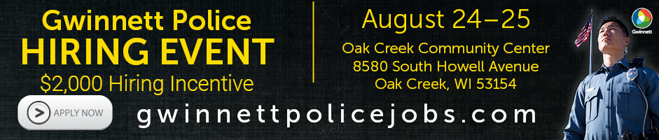 Police Hiring Event - Oak Creek, WI