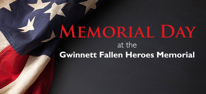 Memorial Day Ceremony recognizes Gwinnett military heroes