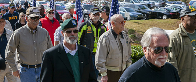 Gwinnett's Veterans Day ceremony honors those who served