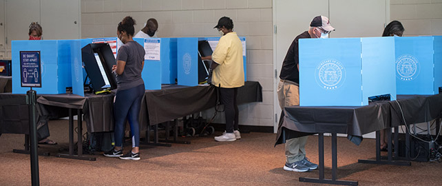 Advance voting continues; more opportunities to vote before Nov. 3