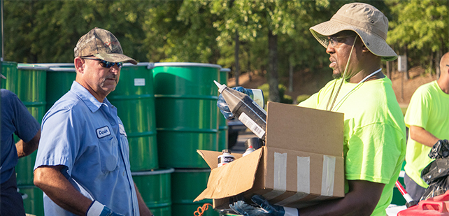 Bring your household hazardous waste to the Gwinnett Fairgrounds on July 20