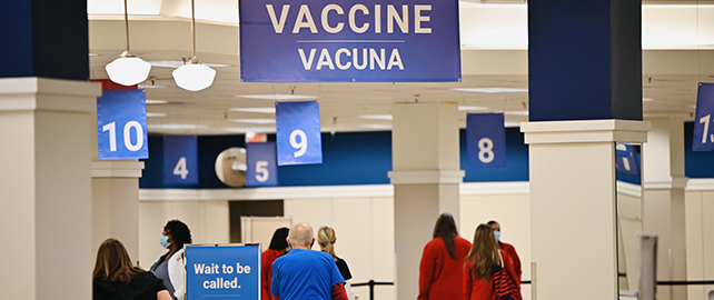 County, GNR Health open mass vaccination center in former Sears store