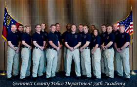 Gwinnett Police Department's 79th Academy